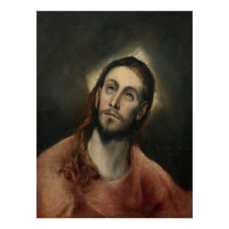 Christ in Prayer by El Greco Poster
