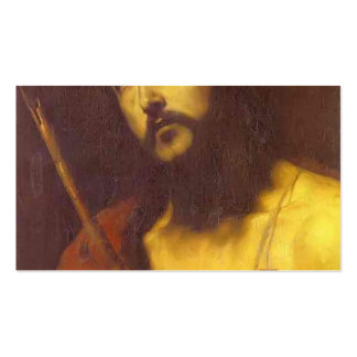 Christ in the Crown of Thorns by Jusepe de Ribera Double-Sided Standard Business Cards (Pack Of 100)