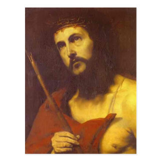 Christ in the Crown of Thorns by Jusepe de Ribera Postcard