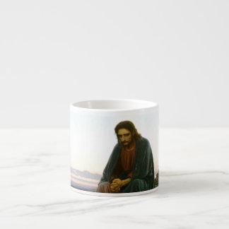 Christ in the Desert Espresso Cup