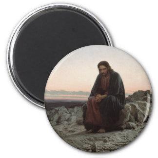 Christ in the Desert Magnet
