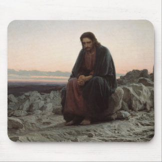 Christ in the Desert Mouse Pad