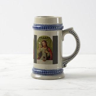 Christ In The Eucharist By Juanes Juan De (Best Qu 18 Oz Beer Stein