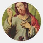 Christ In The Eucharist By Juanes Juan De (Best Qu Stickers