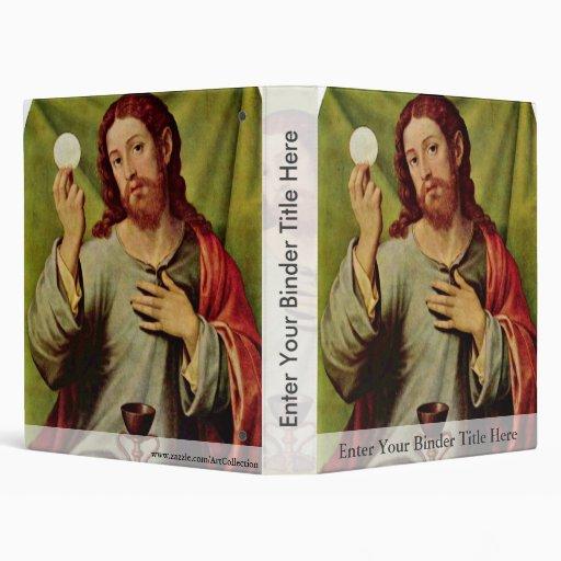 Christ In The Eucharist By Juanes Juan De (Best Qu Vinyl Binders