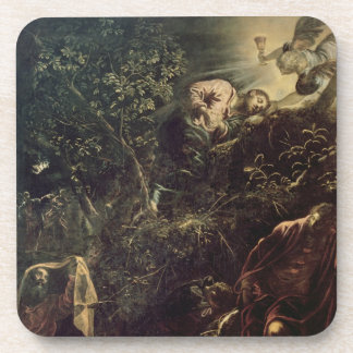 Christ in the Garden of Gethsemane 2 Drink Coaster