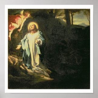 Christ in the Garden of Gethsemane 3 Poster