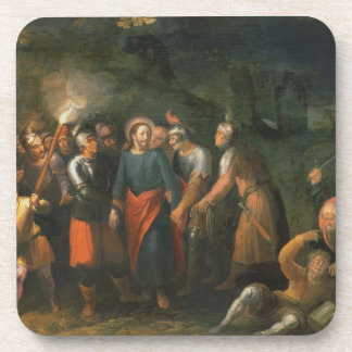 Christ in the Garden of Gethsemane Drink Coaster