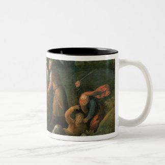 Christ in the Garden of Gethsemane Two-Tone Coffee Mug