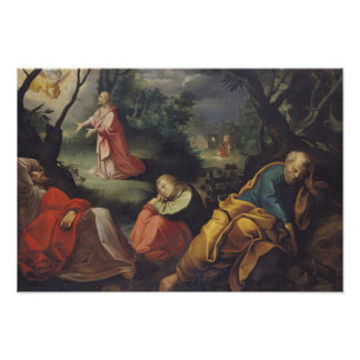 Christ in the Garden of Olives, 1625 Poster