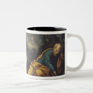 Christ in the Garden of Olives, 1625 Two-Tone Coffee Mug