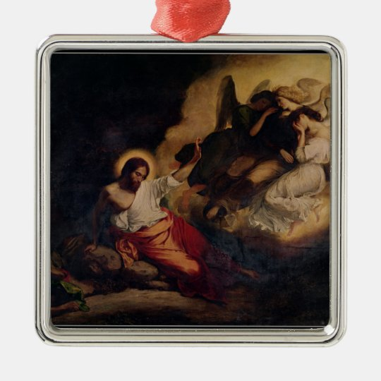 Christ in the Garden of Olives, 1827 Metal Ornament