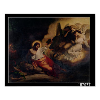 Christ in the Garden of Olives, 1827 Poster