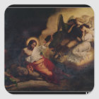 Christ in the Garden of Olives, 1827 Square Sticker