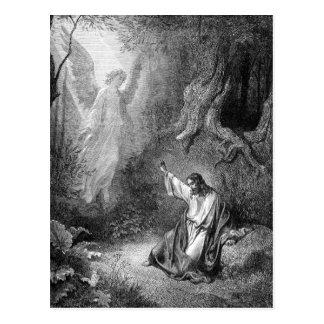 Christ in the Garden Postcard