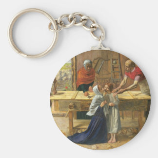 Christ In The House Of His Parents Keychain