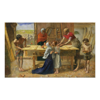 Christ In The House Of His Parents Poster