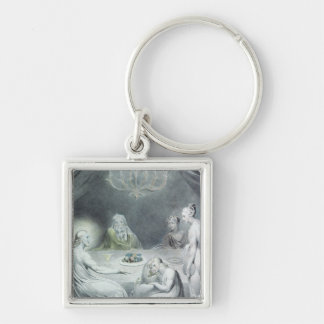 Christ in the House of Martha and Mary Keychain