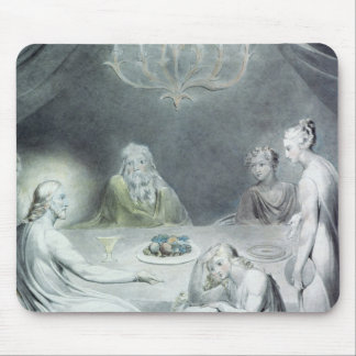 Christ in the House of Martha and Mary Mouse Pad