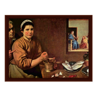 Christ In The House Of Martha And Mary Postcards