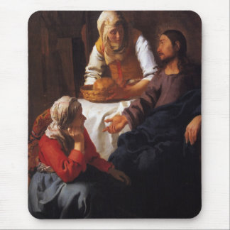 Christ in the House of Mary & Martha Mouse Pad