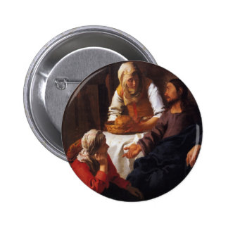 Christ in the House of Mary & Martha Pins