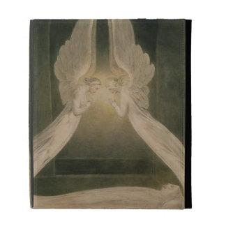 Christ in the Sepulchre, Guarded by Angels iPad Folio Case