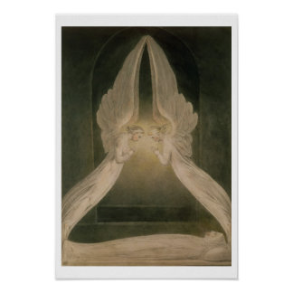 Christ in the Sepulchre, Guarded by Angels Poster