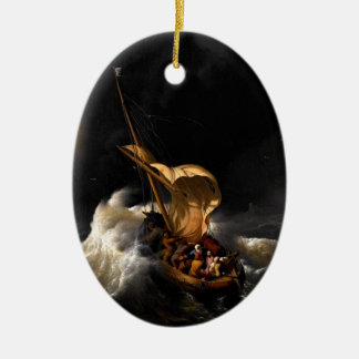 Christ in the Storm on the Sea of Galilee Ornament