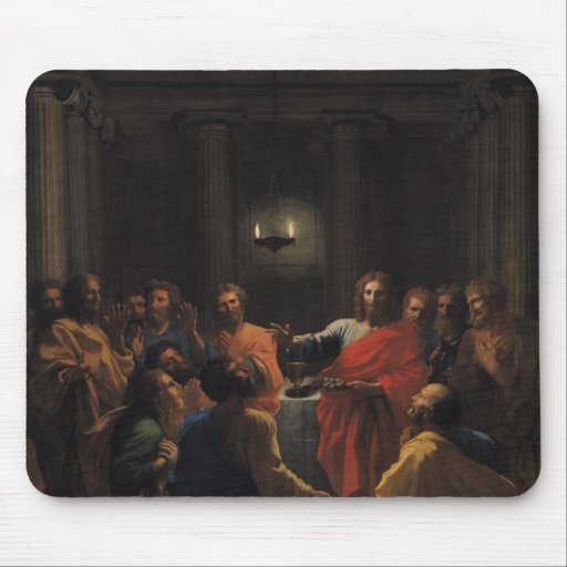 Christ Instituting the Eucharist Mouse Pad