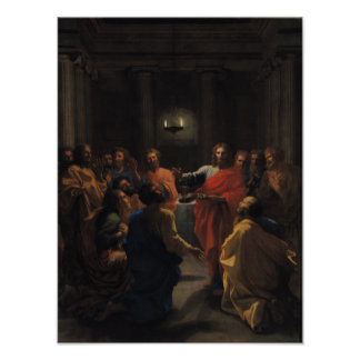 Christ Instituting the Eucharist Poster