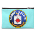 Christ Is Alive - C.I.A. icon look-alike Travel Accessories Bags