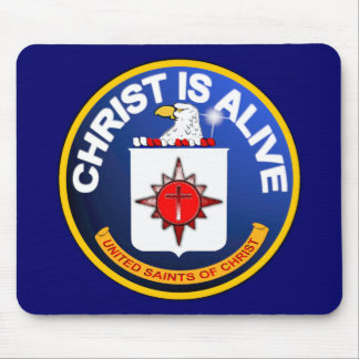 Christ Is Alive – C.I.A. icon look-alike Mouse Pad