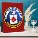 Christ Is Alive - C.I.A. icon look-alike Display Plaque