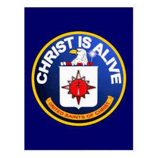 Christ Is Alive – C.I.A. icon look-alike Postcard