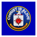 Christ Is Alive – C.I.A. icon look-alike Print