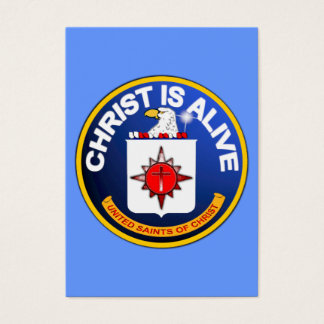 Christ Is Alive - C.I.A. icon  Tract Cards /