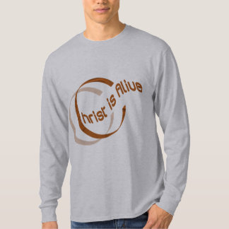 Christ is alive Motif Cuivre. T-Shirt