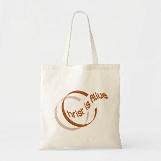 Christ is alive Motif Cuivre. Tote Bag