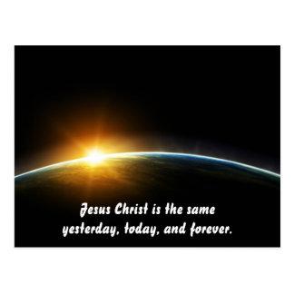 Christ Is Always The Same Postcard