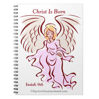 Christ is Born Note Book