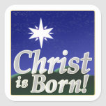 Christ Is Born Stickers