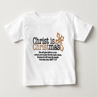CHRIST IS CHRISTMAS TEE SHIRT
