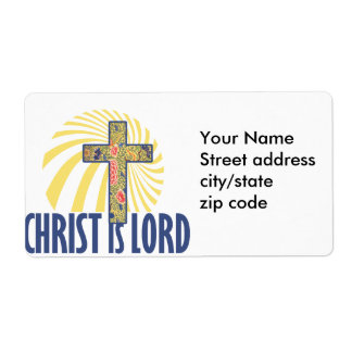 Christ is LORD Label