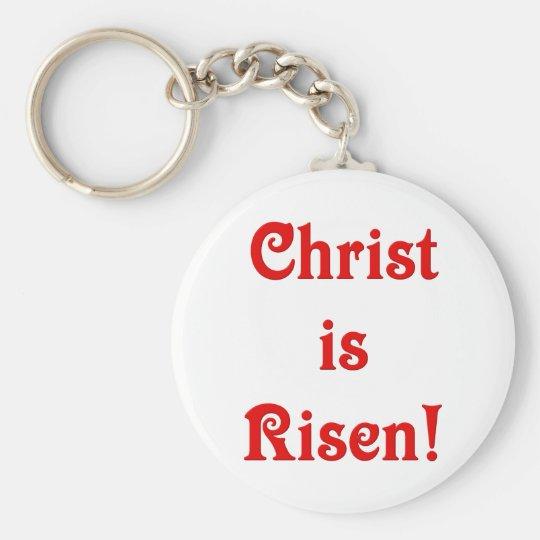 Christ is Risen Keychain