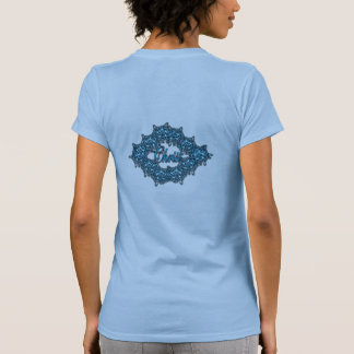 Christ is the Center - Ice Blue Tees