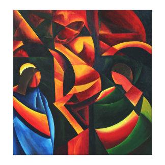 Christ - Last breath 2008 Canvas Print