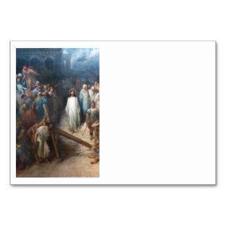 Christ Leaving Praetorium Card