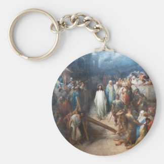 Christ Leaving Praetorium Keychain
