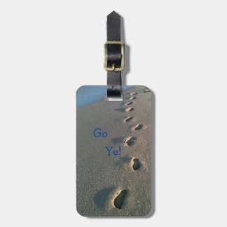 Christ Loves the Nations Luggage Tag - Go Ye